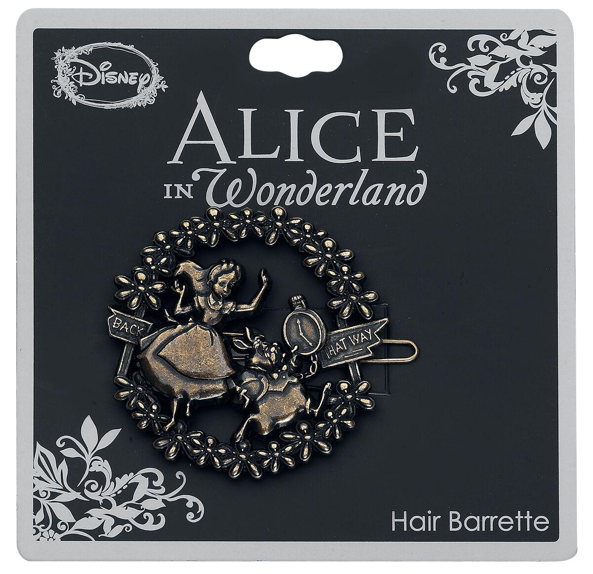 Image of Alice im Wunderland Alice and White Rabbit Haarspange Standard