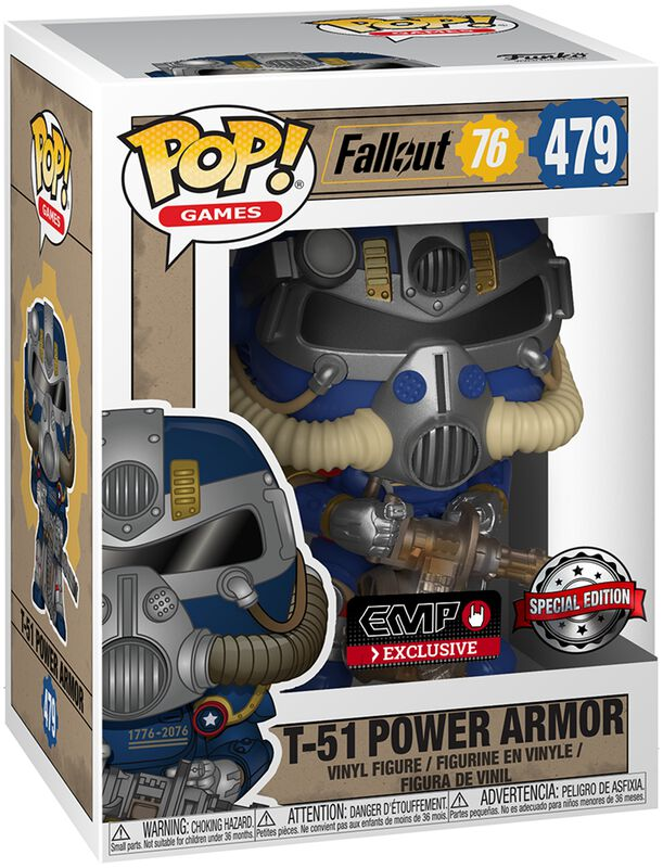 76 - Tricentennial Power Armor Vinyl Figur 479