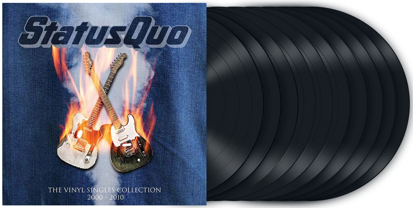 Image of Status Quo The vinyl singles collection 2000?s 10-7 inch Standard