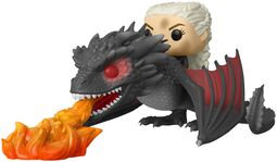 Daenerys and Fiery Drogon POP Rides Vinyl Figure 68