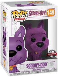 Scooby-Doo (Purple Flocked) Vinyl Figur 149