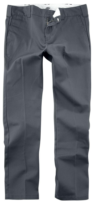 Image of Dickies Slim Fit Work Pant WE872 Chinopant charcoal