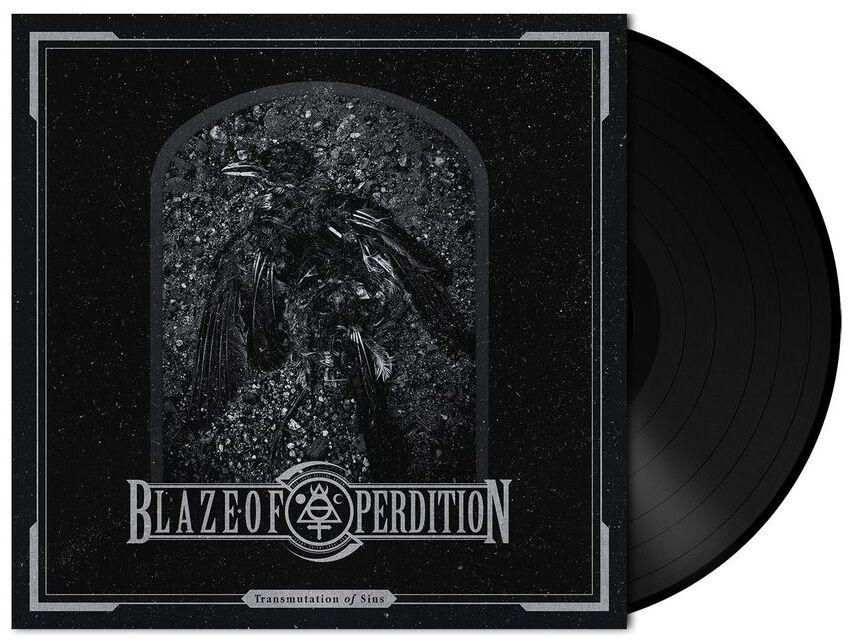 Image of Blaze Of Perdition Transmutations of sins 7 inch-SINGLE Standard