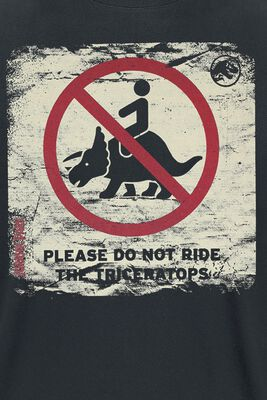Please Do Not Ride The Triceratops