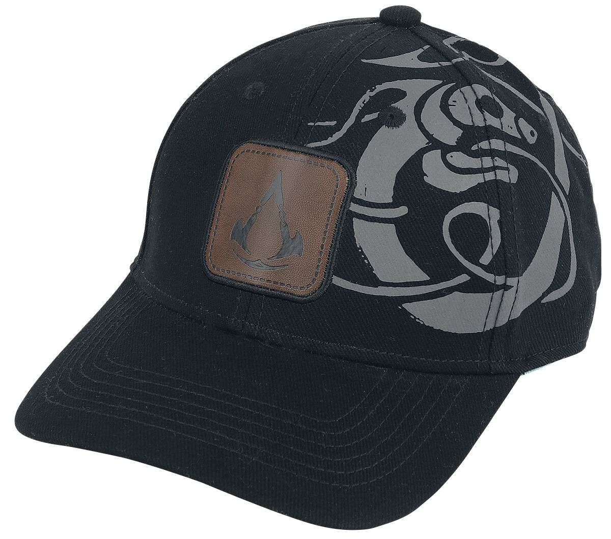 Image of Assassin's Creed Valhalla - Tribal Baseball-Cap schwarz