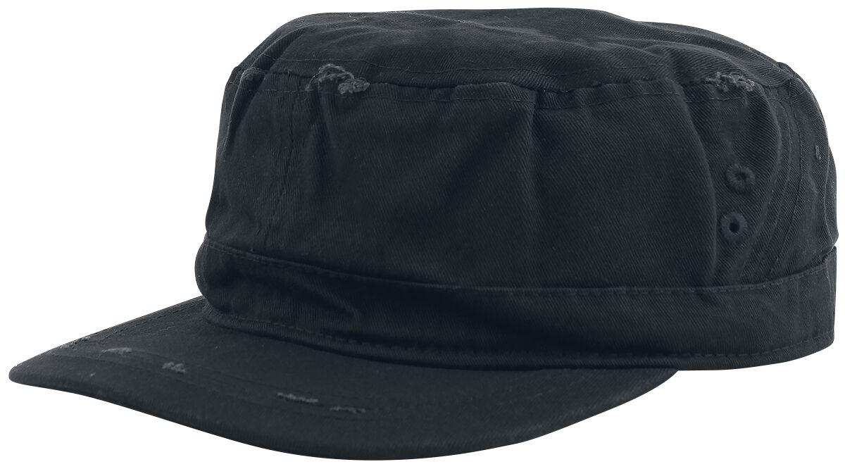 Image of Black Premium by EMP Vintage Army Cap Army-Cap schwarz