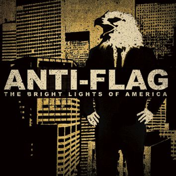 Image of Anti-Flag The bright lights of America CD Standard