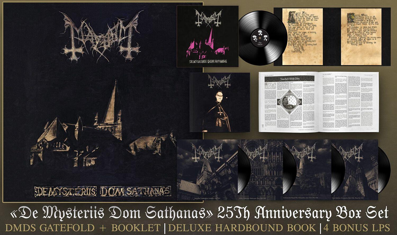 Image of Mayhem De Mysteriis Dom Sathanas - (25th Anniversary Edition) 5-LP Standard