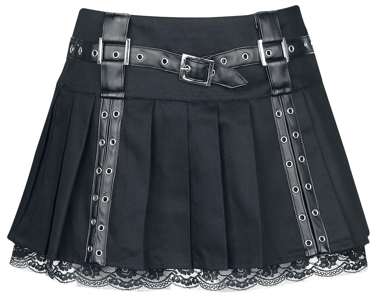 Burleska - Aura Mini Skirt - Kurzer Rock - schwarz