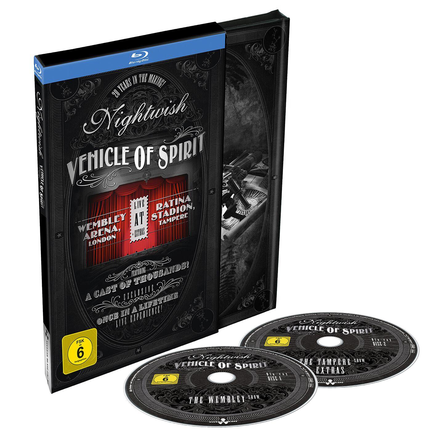 Image of Nightwish Vehicle Of Spirit 2-Blu-ray Standard