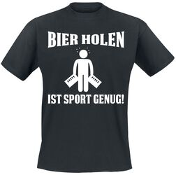Bier holen ist Sport genug!