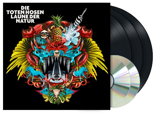 Image of Die Toten Hosen Laune der Natur / Learning English Lesson 2 3-LP & 2-CD Standard