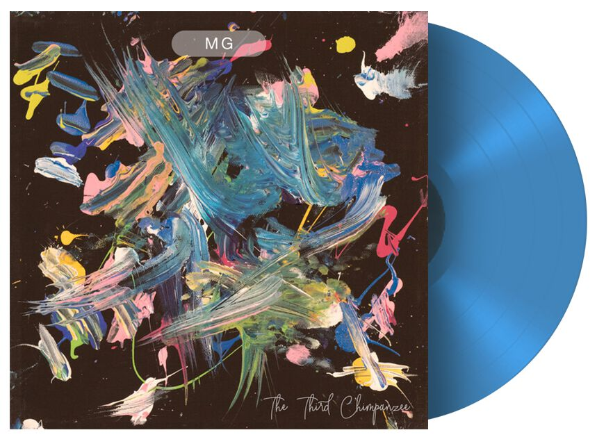 Image of Martin Gore The third chimpanzee 12 inch-EP blau
