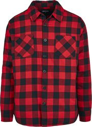 Padded Check Flannel Shirt