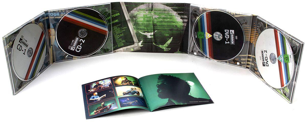 Image of Haken L-1VE 2-CD & 2-DVD Standard