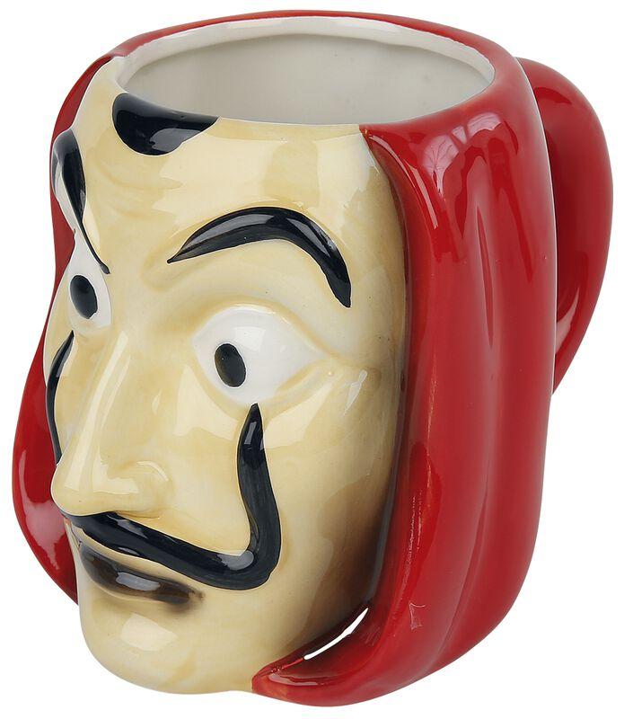 Maske - 3D Tasse