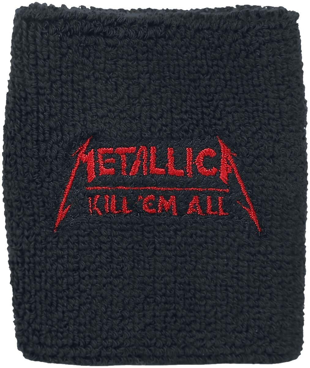 Metallica Kill 'Em All - Wristband Schweißband schwarz WB224