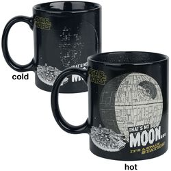 That's No Moon - Tasse mit Thermoeffekt