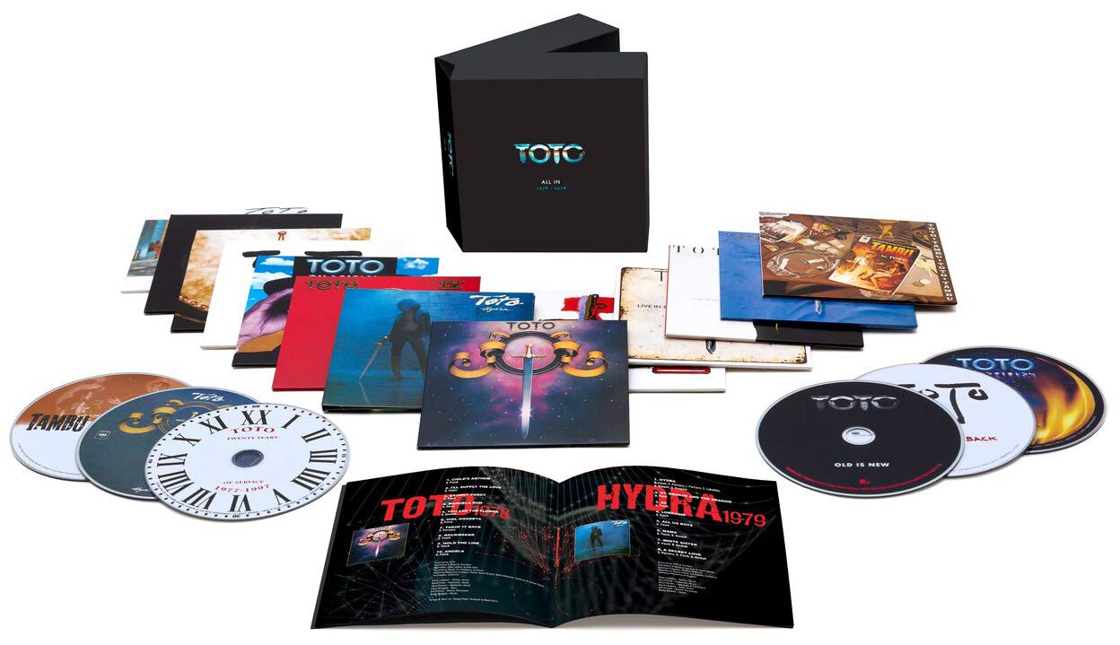 Image of Toto All the CDs 13-CD Standard
