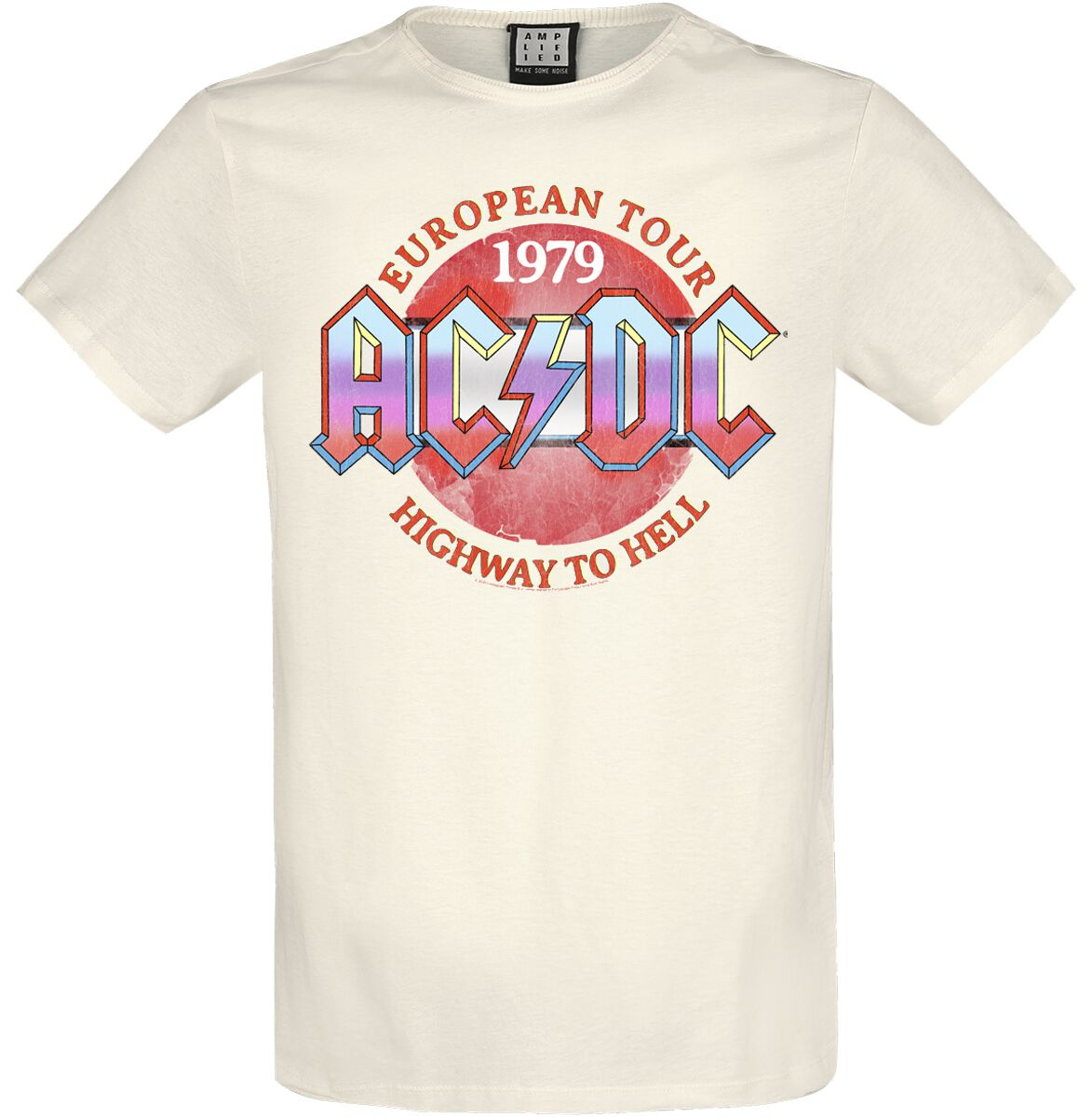 Image of AC/DC Amplified Collection - Vintage 79 T-Shirt altweiß
