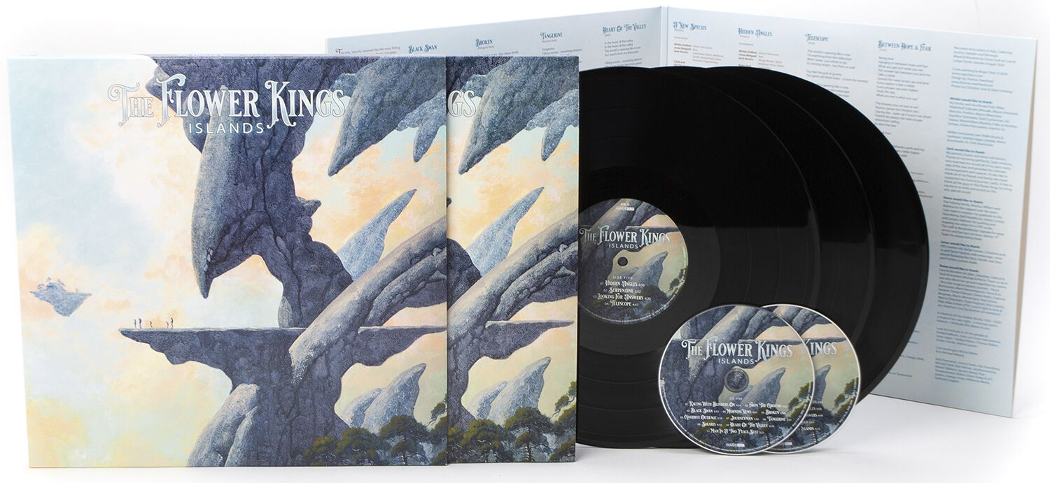 Image of The Flower Kings Islands 3-LP & 2-CD Standard