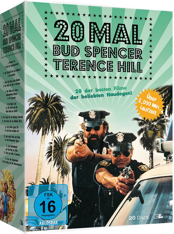20 x Bud Spencer & Terence Hill