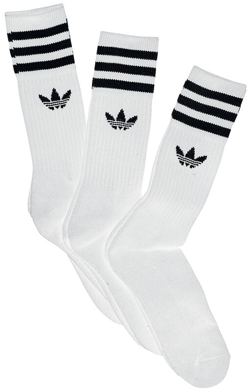 Solid Crew Sock 3 Pack
