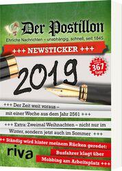 Der Postillon Newsticker 2019 - Tagesabreißkalender