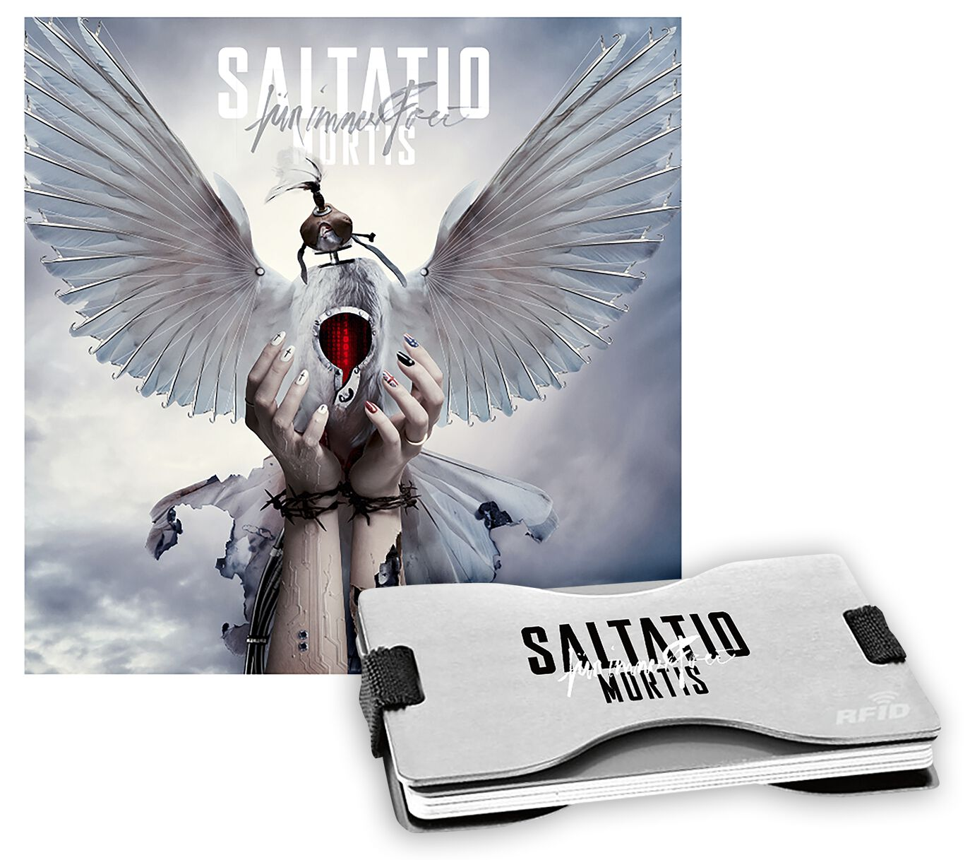 Image of Saltatio Mortis Für immer frei CD & Cardholder Standard