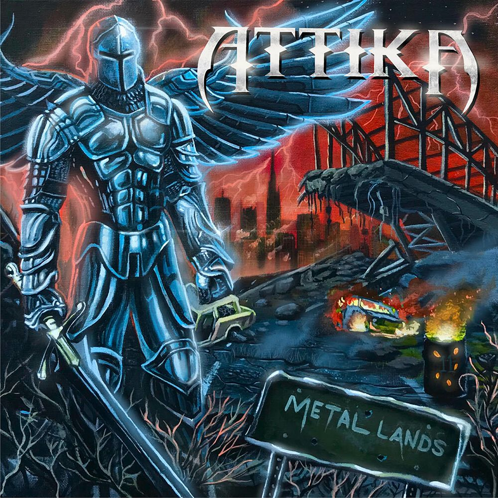 Image of Attika Metal land CD Standard