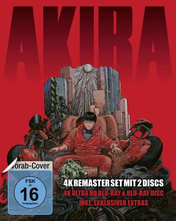 Image of Akira Akira (4K Ultra HD Blu-ray & Blu-ray) Blu-ray (4K Mastered) Standard