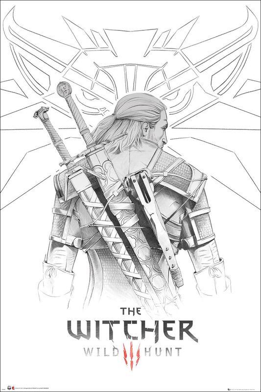 3 - Wild Hunt - Geralt Sketch