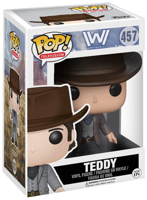 Westworld Teddy Vinyl Figure 457 Funko Pop! multicolor 14367
