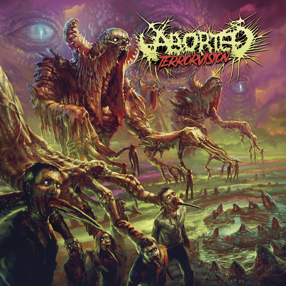 Image of Aborted TerrorVision CD Standard