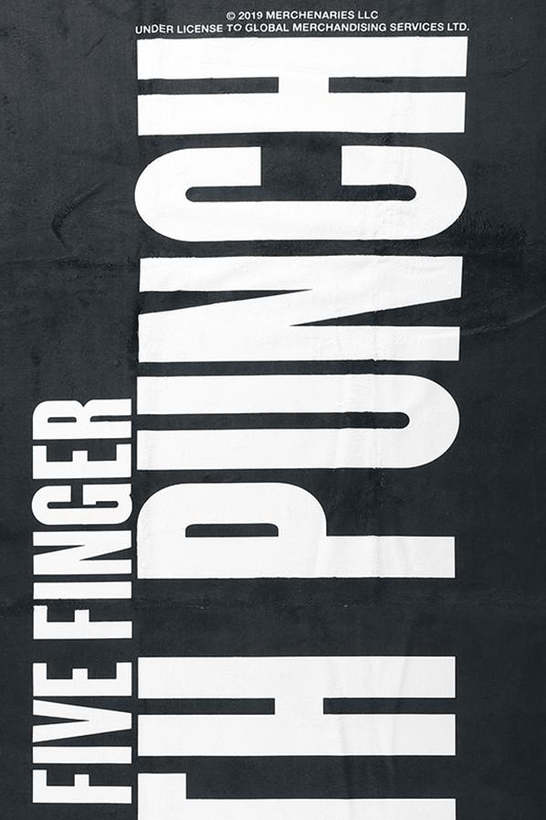 Image of Five Finger Death Punch Logo Badetuch Standard