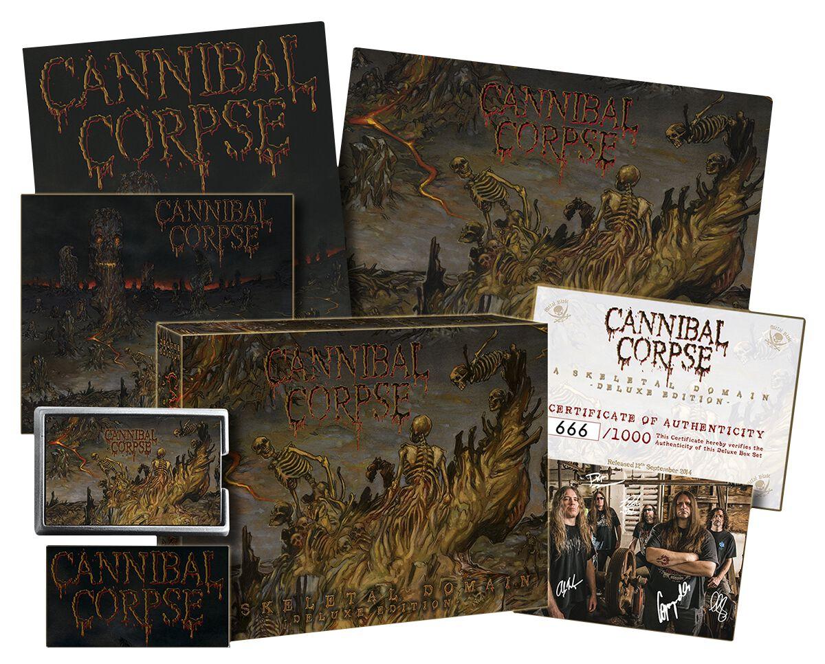 A Skeletal Domain Cannibal Corpse Cd Emp