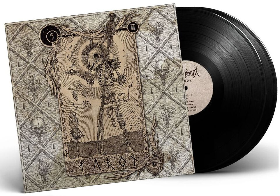 Image of Aether Realm Tarot 2-LP schwarz