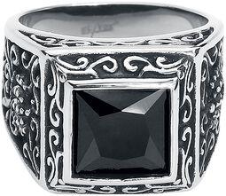 Schwarzer Kristall