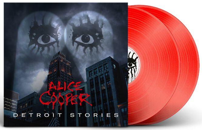 Image of Alice Cooper Detroit stories 2-LP rot