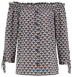 Ladies Carmen Blouse