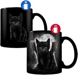 Bat Cat -Tasse mit Thermoeffekt