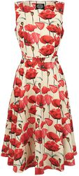 Red Poppy Swing Dress