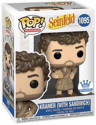Seinfeld Kramer (with Sandwich) (Funko Shop Europe) Vinyl Figur 1095