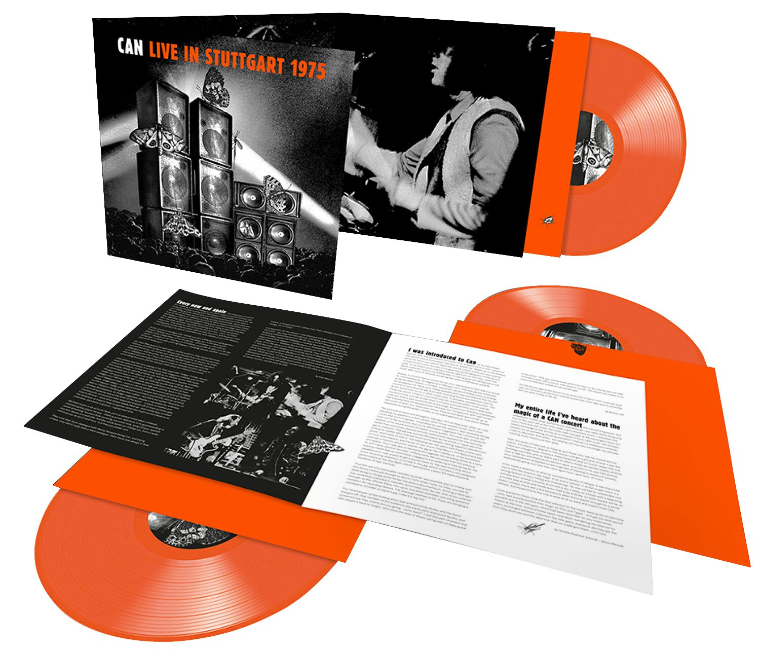 Image of Can Live in Stuttgart 1975 3-LP orange