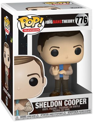 Sheldon Cooper Vinyl Figure 776