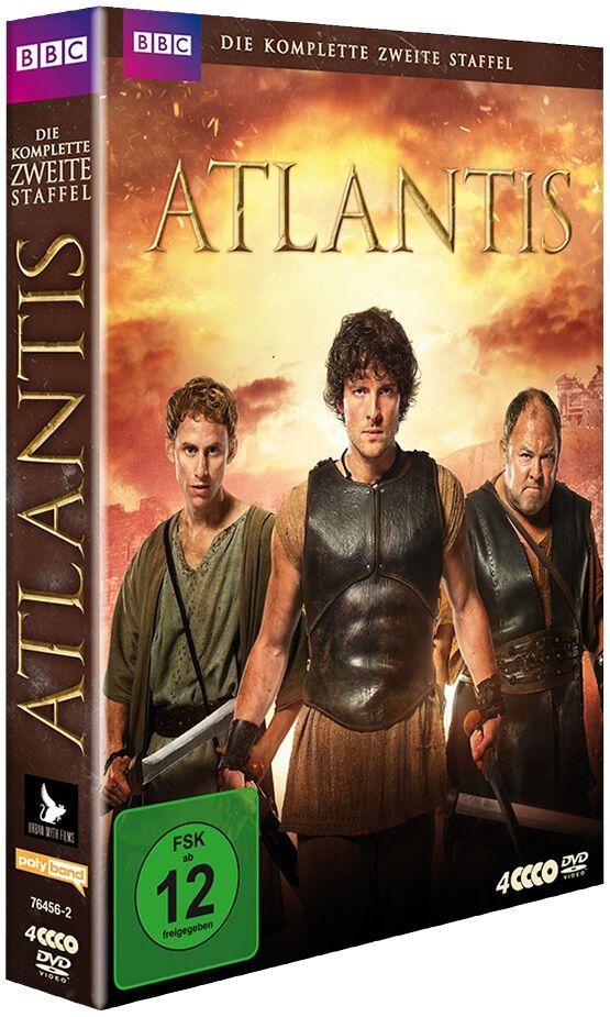 Image of Atlantis Die komplette zweite Staffel 4-DVD Standard