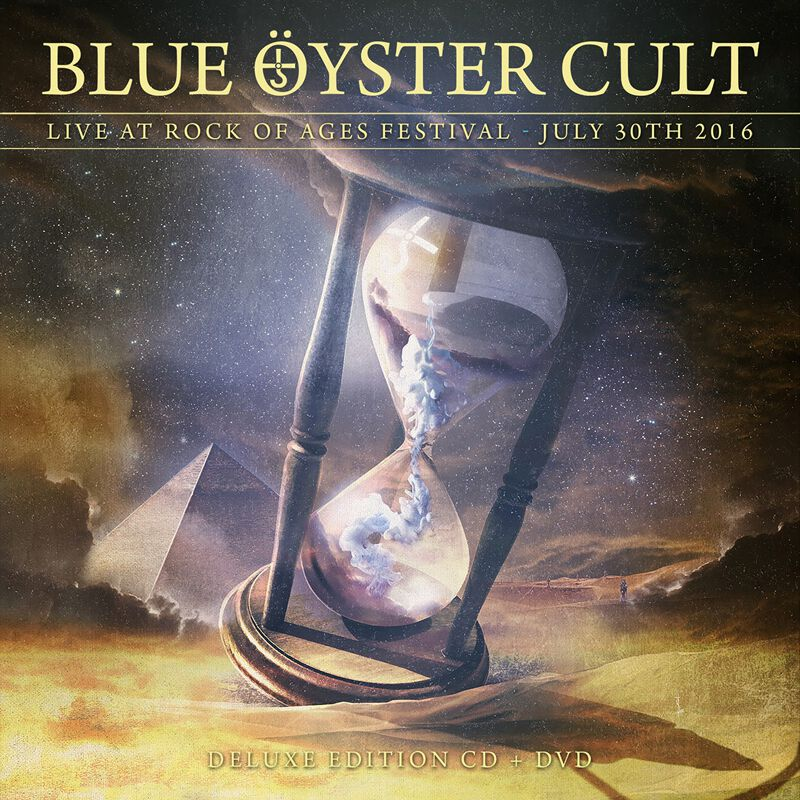 Image of Blue Öyster Cult Agents of fortune live 2016 CD & Blu-ray Standard