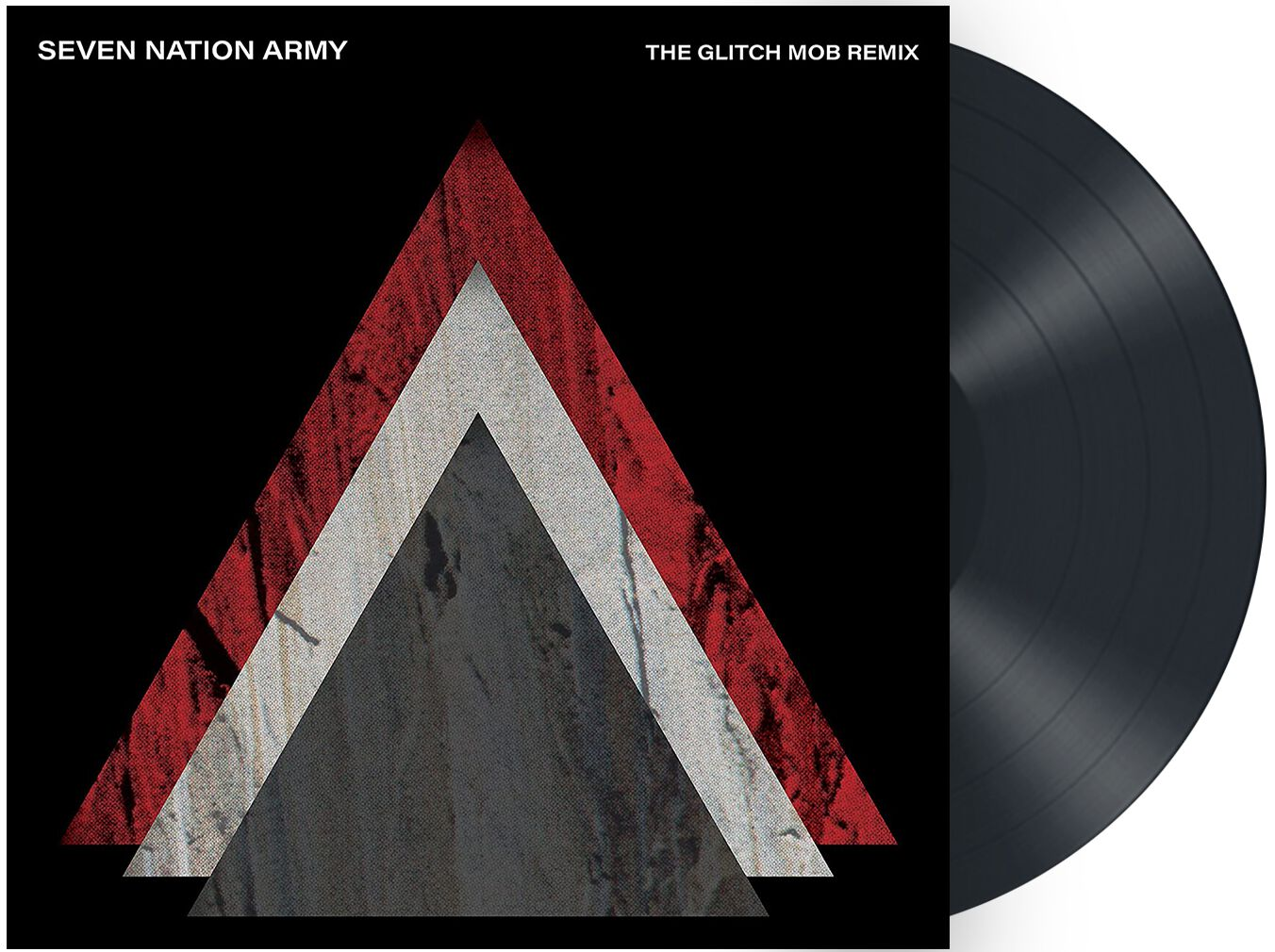 Image of The White Stripes Seven nation army x The glitch mob 7 inch-SINGLE schwarz