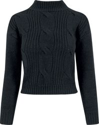 Ladies Short Turtleneck Sweater