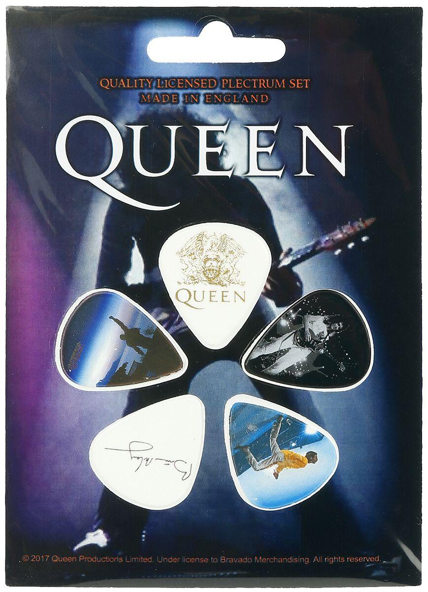 Queen Mix  Plektren-Set  multicolor